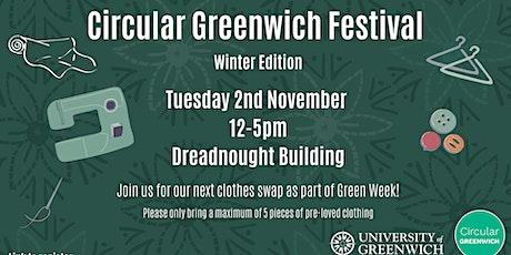 Circular Greenwich Festival (Green Week) tickets