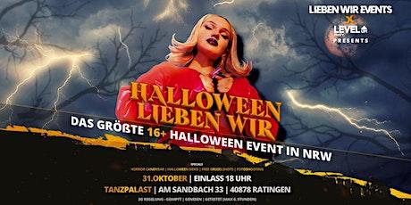 Die größte Halloween Party in NRW ab16+ Tickets
