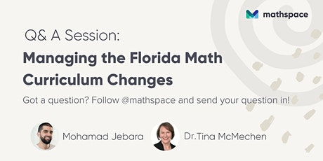 Managing the Florida Math Curriculum Changes tickets