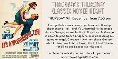 Copy of Classic Movie Night at The Keep Guildford - It's a Wonderful Life tickets