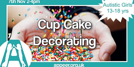 Appeer Autistic Teens Session, Cupcake Decorating and Crafts (13-18yrs) tickets