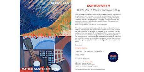 Expositie Contrapunt V met twee schilders tickets