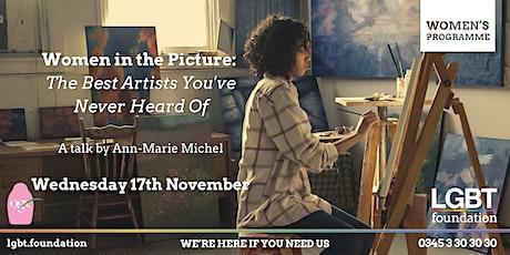 Women's Programme:  Women In The Picture - An Art History Talk tickets
