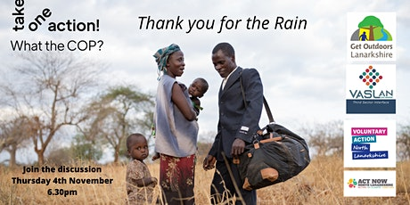 Take One Action - Thank you for the Rain film discussion tickets