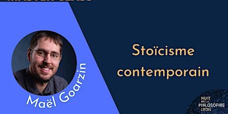 MASTER CLASS avec Maël Goarzin : Stoïcisme contemporain billets