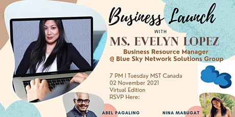 Evelyn Lopez's  Business Launch tickets