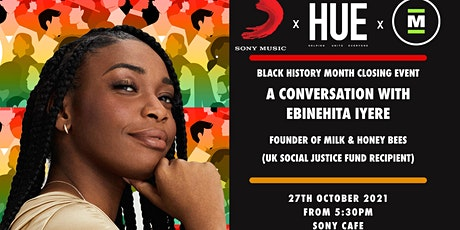 HUE UK Presents... Black History Month 2021 Closing Drinks tickets