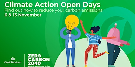 Westminster Climate Action Community Open Days tickets
