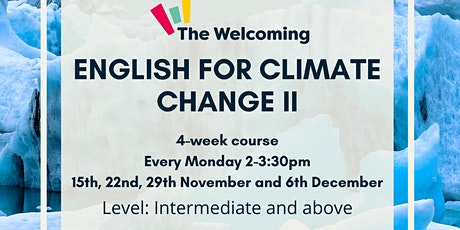 English for Climate Change II billets