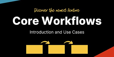 Introduction to Core Workflows (English) tickets