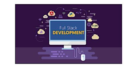 Full Stack Developer-1 in 4 weekends training course in Newark tickets