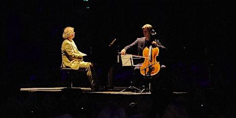 Van Bach tot Pärt, Ligconcert® Cello&Piano  15-1-2022, 20u, Serie Diversity tickets