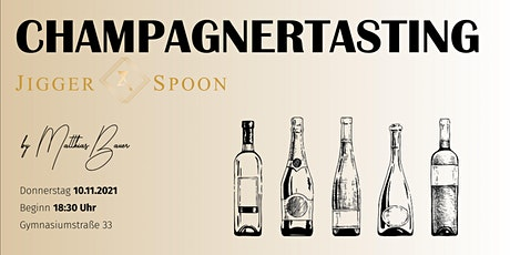 Champagnertasting x Jigger & Spoon Tickets