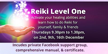 Reiki Level One tickets