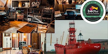 Bectu Lightship 95 Music Studio Tour tickets