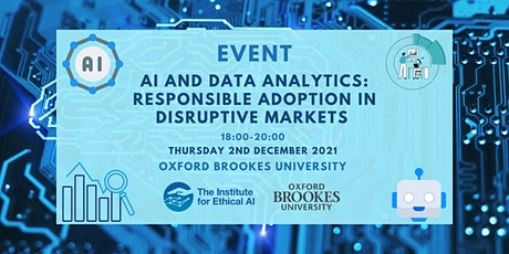 AI and Data Analytics: Responsible Adoption in Disruptive Markets tickets