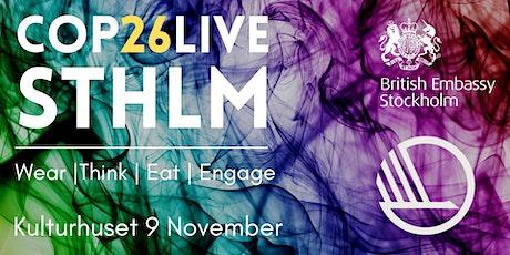 COP26 Live STHLM tickets
