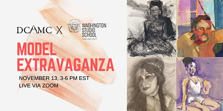 2nd Saturday's Model Extravaganza with DC Art Model Collective tickets