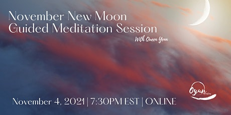 November New Moon Guided Meditation tickets