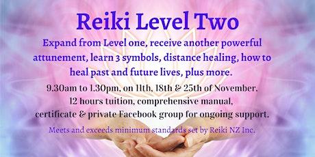 Reiki Level Two tickets
