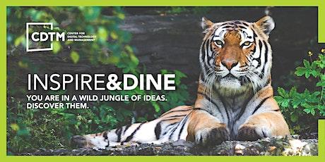 CDTM Inspire&Dine Speaker Series - Tuesday, November 2nd Tickets