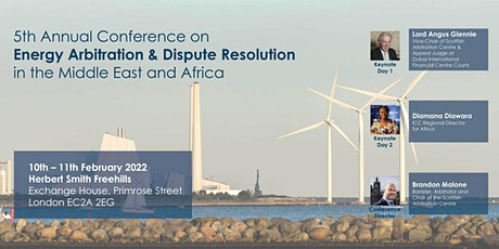 5th Annual Conference on Energy Arbitration & Dispute Resolution in MEA tickets