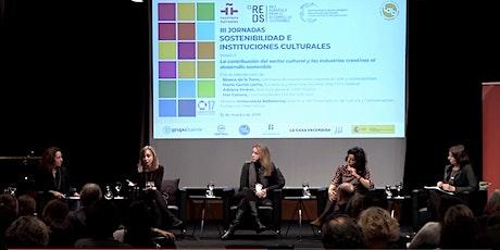 IV Jornadas REDS sobre Cultura y Desarrollo Sostenible entradas