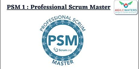 PSM 1 - Professional Scrum Master 1 Online Training tickets