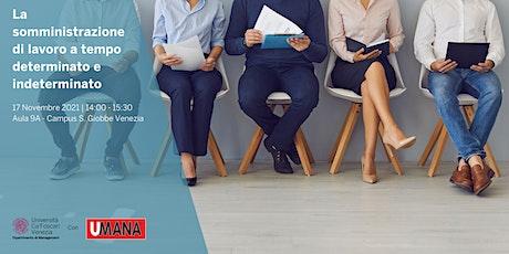 Seminario didattico 17/11 - Dipartimento di Management Ca' Foscari biglietti