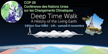 Deep Time Walk avec la COP26 (Marche du Temps Profond) - Tour Eiffel 14h billets
