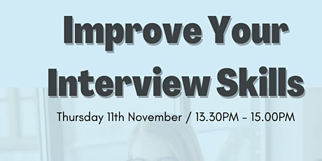 Improve Your Interview Skills- Global Learning Festival Nov 2021 tickets