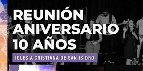Reunión 10 ANIVERSARIO - 19:30hs tickets