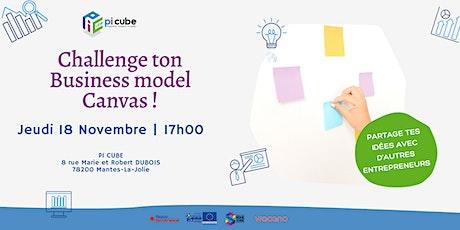 Challenge ton business model canvas billets