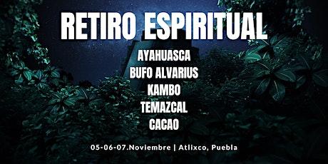 Retiro Espiritual: Yoga - Ayahuasca - Bufo Alvarius - Kambo - Cacao entradas