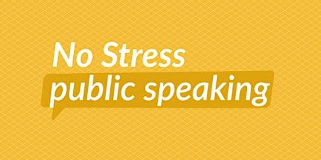 No Stress Public Speaking tickets