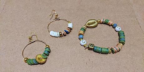 Création de bijoux avec Gwenaëlle billets