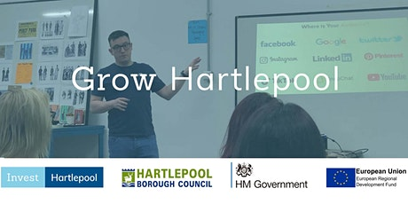 Grow Hartlepool Introduction - FREE Marketing workshop for local businesses tickets