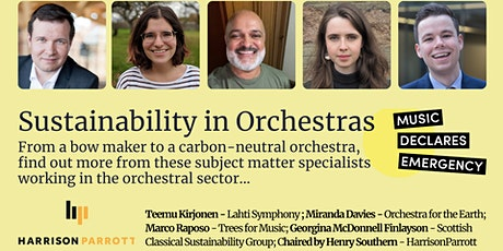Sustainability in Orchestras  - Panel Discussion tickets