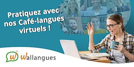 Café-langues virtuel (EN) - Wallangues billets