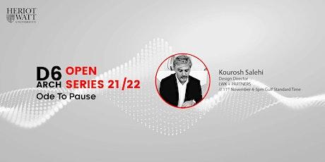 D6  Architecture Open Series 2021 - D6 Architecture @ DUBAI DESIGN WEEK tickets