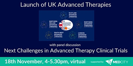Launch of the UKAT and Challenges in clinical trials in Advanced  Therapies tickets