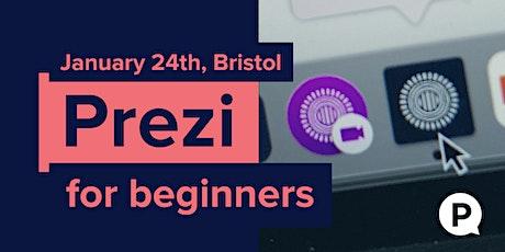 Prezi Training for Beginners tickets