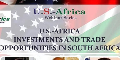 U.S.-Africa Trade and Investment Opportunities webinar in South Africa tickets