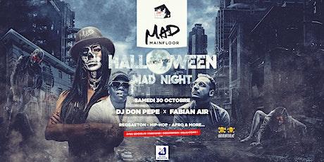 Halloween MAD Night billets