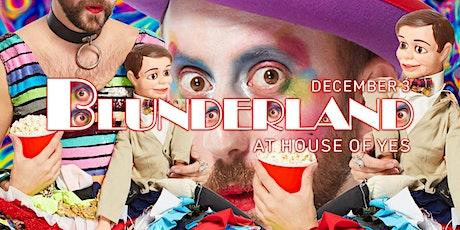 Blunderland Variety Show tickets
