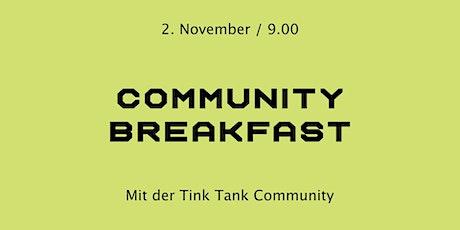 Community Breakfast Tickets