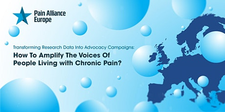 How To Amplify The Voices Of People Living with  Chronic Pain tickets