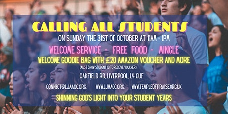 Calling all Liverpool Students tickets