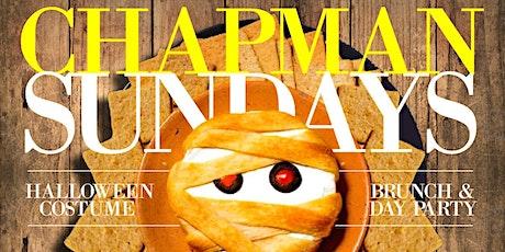 Chapman & Kirby Sundays: Halloween Costume Brunch & Day Party tickets