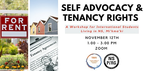 Self Advocacy and Tenancy Rights for International Students tickets